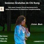 Sesiones Gratuitas de Chi Kung todos los Miércoles. En Linea sala Zoom
